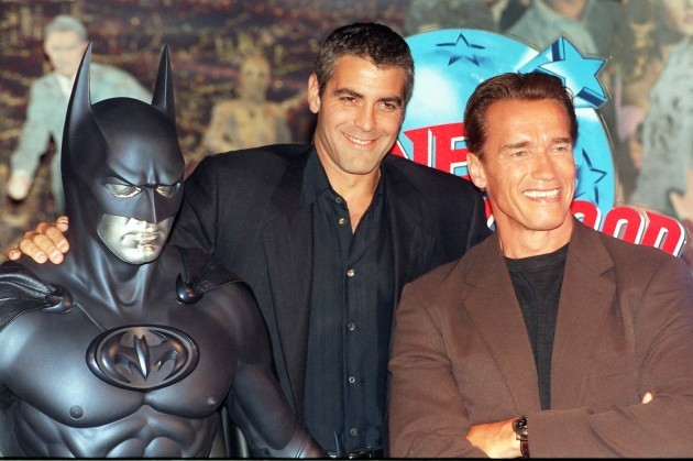 SHOWBIZ Clooney/Schwartzenegger
