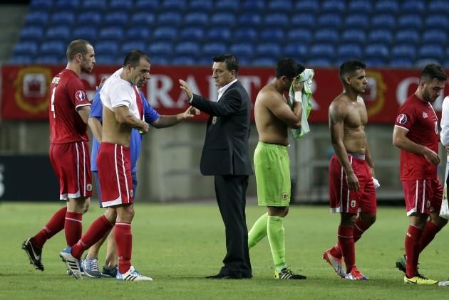 Portugal Soccer Gibraltar Poland