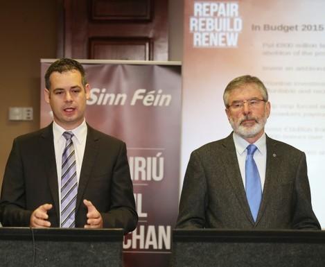 Sinn Fein Pre Budgets 2015