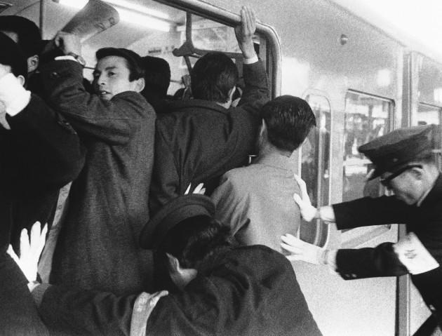 Tokyo Subway Pushers 1971