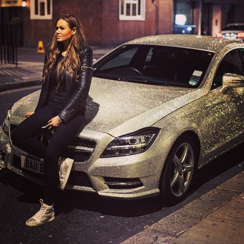 ee5de168ca46 LOOK at this crystal-encrusted Mercedes a Russian millionaire put up on eBay