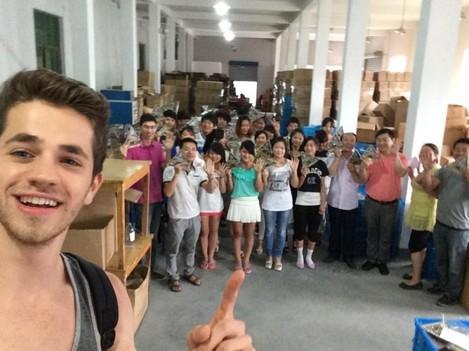 alex shlaferman-china selfie