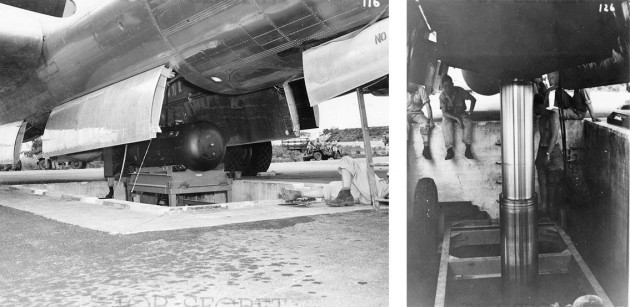 using-the-hydraulic-lift-little-boy-is-carefully-raised-and-loaded-into-the-belly-of-the-enola-gay