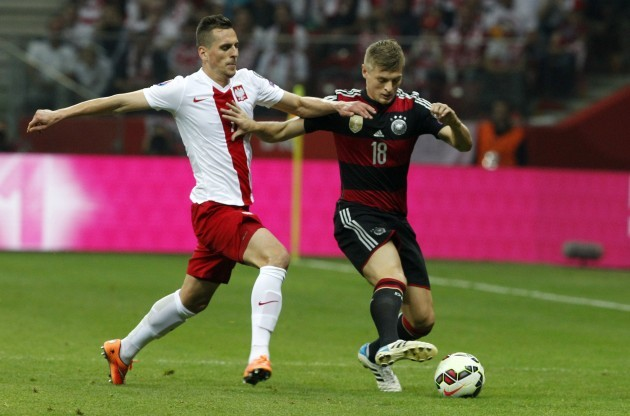 Poland Germany Euro Soccer