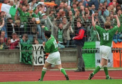 Gary Kelly Republic of Ireland V Germany 29/5/1994
