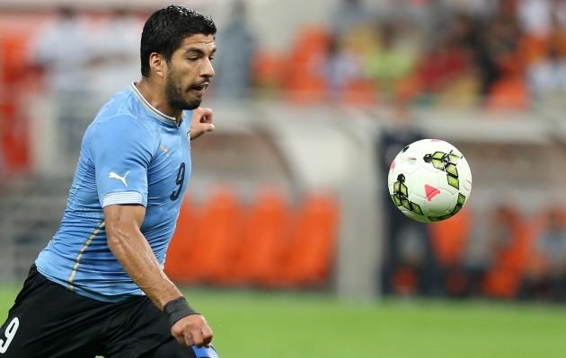 Mideast Saudi Arabia Uruguay Soccer