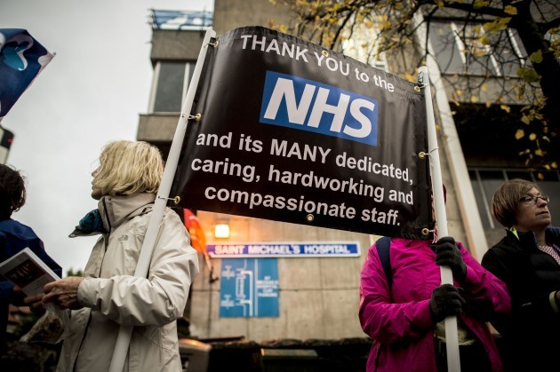 Health workers strike