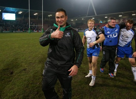 Pat Lam after the match