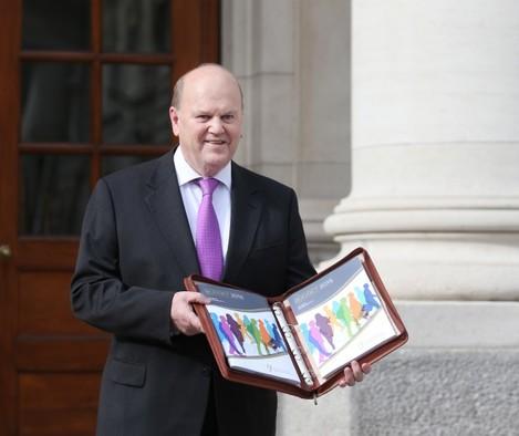 Minister for Finance Michael Noonan arr