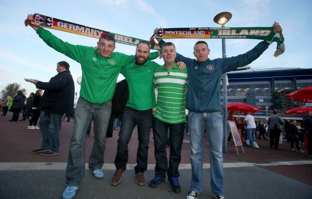 Republic of Ireland supporters 14/10/2014