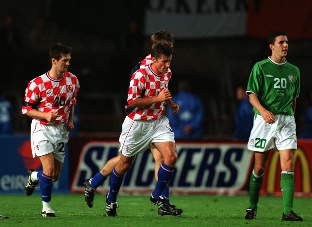 Davor Suker and John O'Shea 15/8/2001