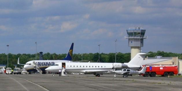 Apron_Leipzig-Altenburg_Airport
