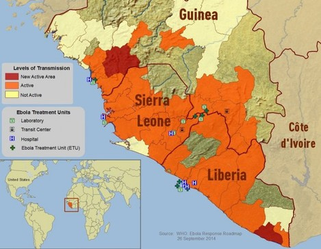 another map ebola