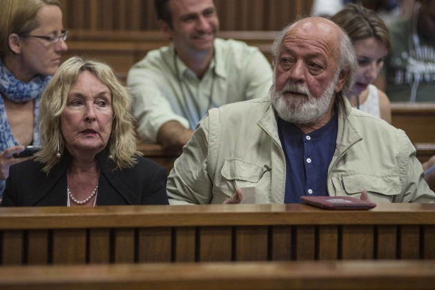 June Steenkamp, Barry Steenkamp