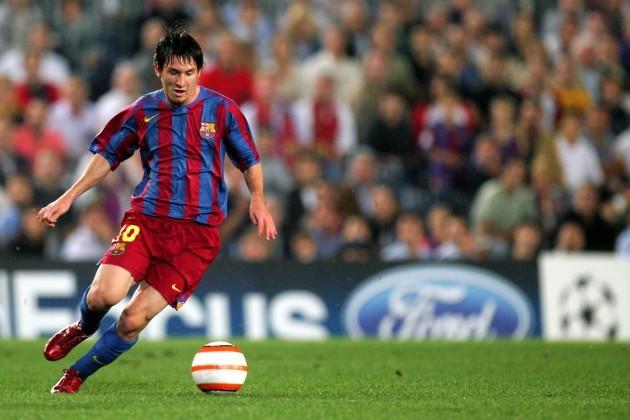 Soccer - UEFA Champions League - Group C - Barcelona v Udinese - Nou Camp