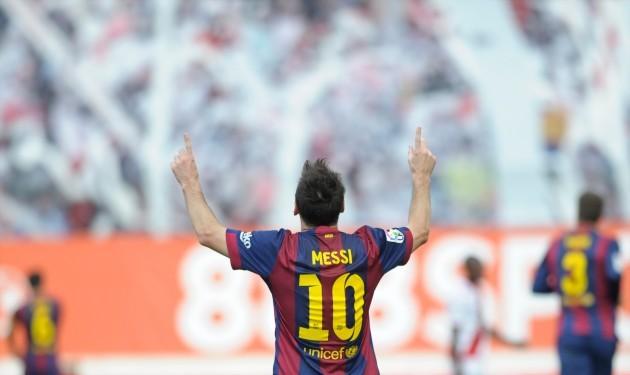 Soccer - Liga BBVA - Rayo Vallecano v Barcelona - Vallecas Estadium