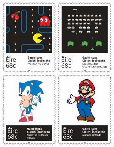 Game Icons Stamps CMYK