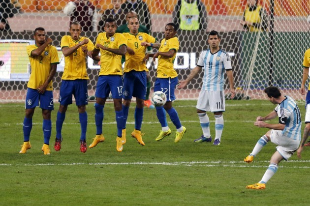 China Brazil Argentina Soccer