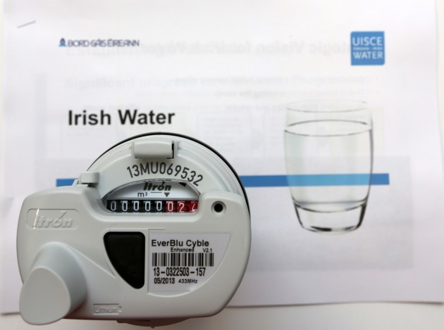 File photo: Water charges are looming