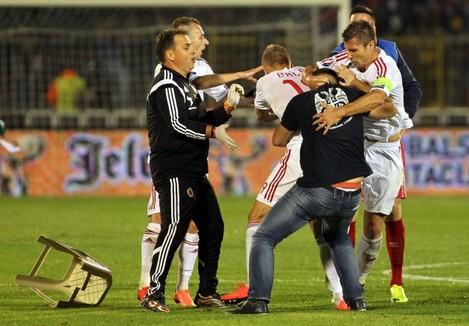 Soccer - UEFA Euro 2016 - Qualifying - Group I - Serbia v Albania - Partizan Stadium