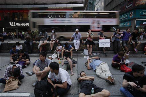 Hong Kong Democracy Protest Endgame