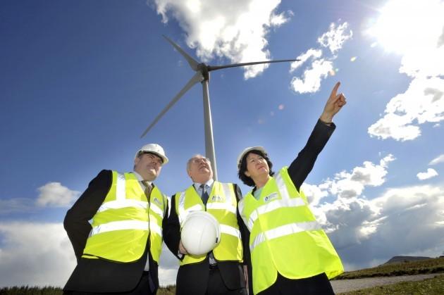 Bord Gais Wind Farm. Minis