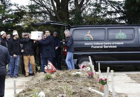 Hassan Khan funeral in Clonskeagh Mosq