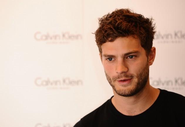 Jamie Dornan launches Calvin Klein male model competition - London
