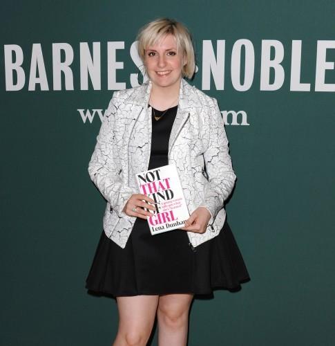Lena Dunham book signing - Los Angeles
