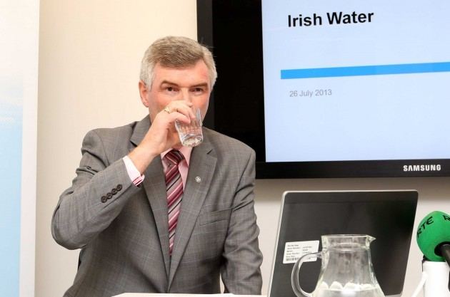 File Pics Irish Water to spend 85m on consultants by 2015.