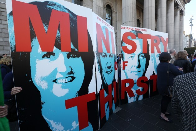 Anti Water Charges Campaigns Protests