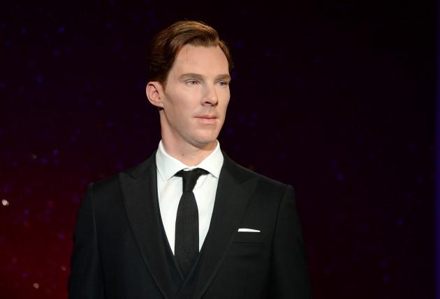 Benedict Cumberbatch Waxwork at Madame Tussauds - London
