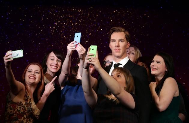 Cumberbatch wax figure