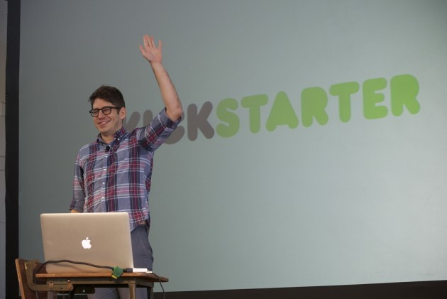 Yancey Strickler, co-founder of Kickstarter