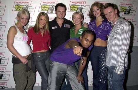 Smash Hits T4 Poll Winners Party/ S Club 7