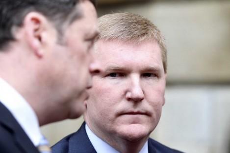 Fianna Fail Michael McGrath. Pictured