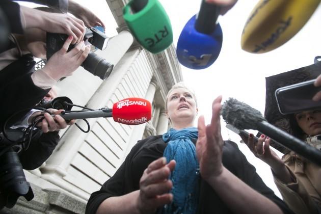Mairia Cahill meets Taoiseach Enda Kenny
