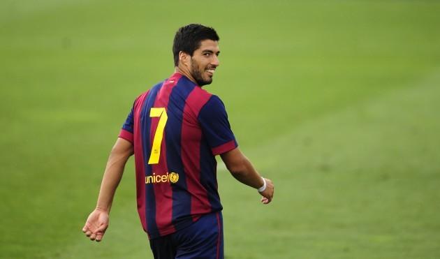 Spain Soccer Friendly Suarez