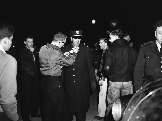 Anti Integration Protesters 1956