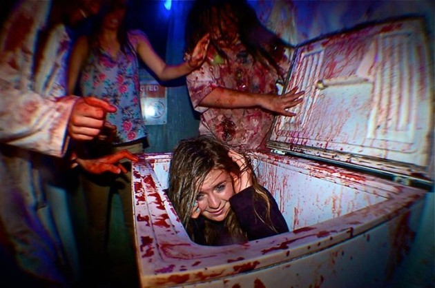 Some People Think The Scariest Part Is Coming To The: Could You Handle The World's Scariest Haunted House? · The