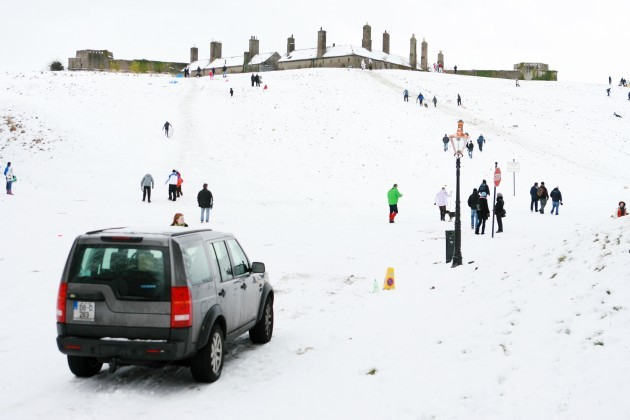 Snow Scenes Bad Weather