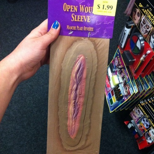 So I was Halloween shopping and..... I'm pretty sure nobody wants to be a spoopy vagina.