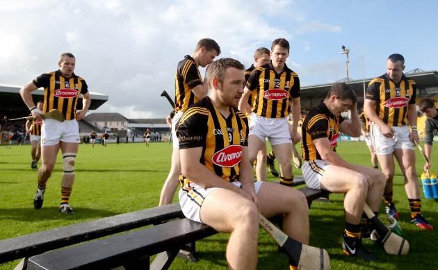 Richie Hogan takes to the bench