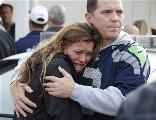 APTOPIX Washington School Shooting