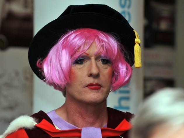 Grayson Perry receives Honorary Doctorate