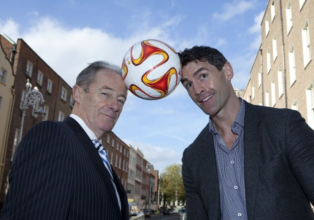 Brian Kerr launches Gaza Kids to Ireland