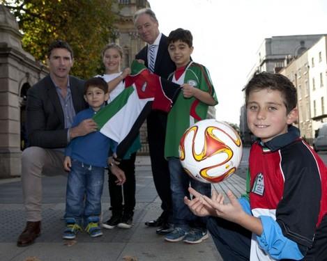 Brian Kerr launches Gaza Kids to Ireland