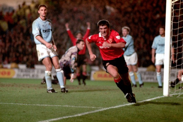 Soccer - FA Carling Premiership - Manchester City v Manchester United - Maine Road