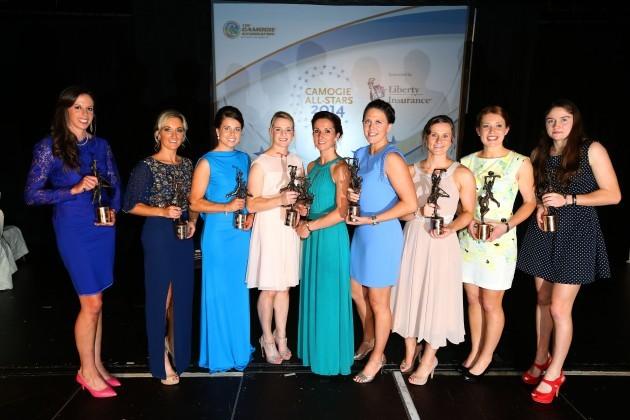 Cork All Star winners