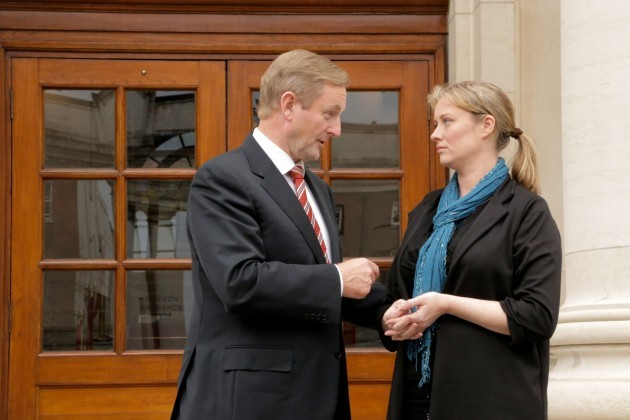 22/10/2014 Taoiseach Enda Kenny meets with Mairia
